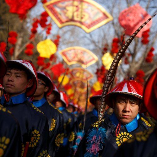 Kinų bendruomenės sutinka Kiaulės metus