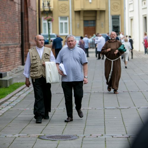 Įšventintas naujas vyskupas A. Jurevičius  © Vilmanto Raupelio nuotr.