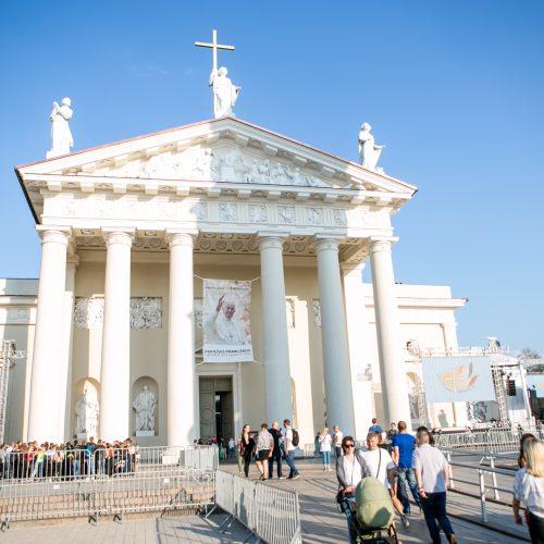 Vilnius laukia popiežiaus  © Vilmanto Raupelio nuotr.