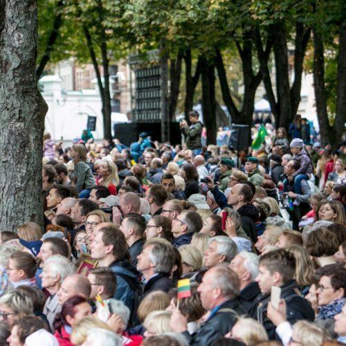 Istorinė diena: į Lietuvą atvyko popiežius Pranciškus  © Vilmanto Raupelio nuotr.