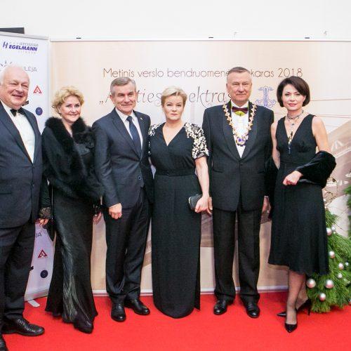 Iškilmingas Kauno regiono verslo bendruomenės vakaras