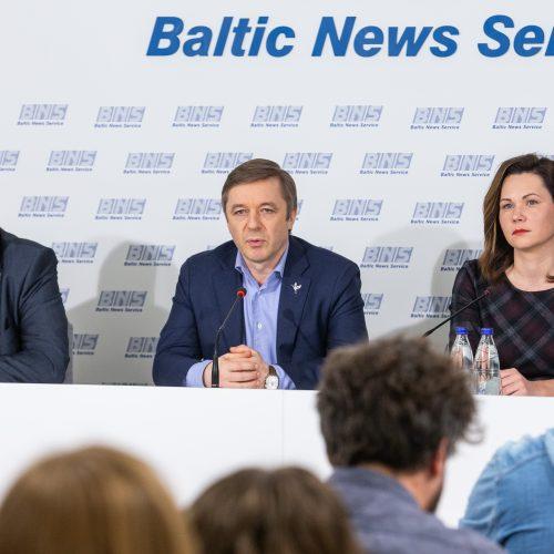 Spaudos konferencija po savivaldos rinkimų