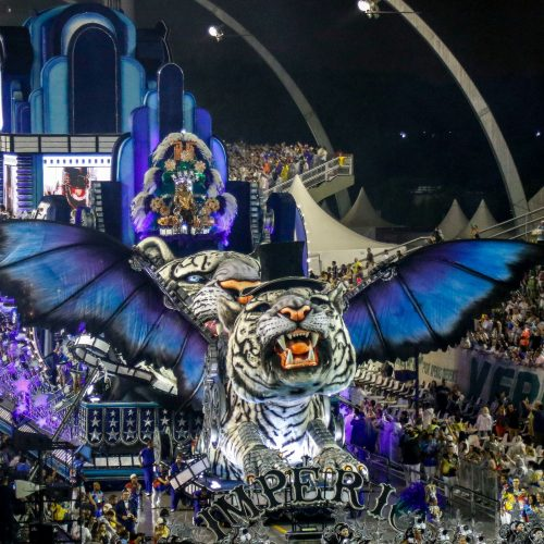 Prasidėjo Rio de Žaneiro karnavalas