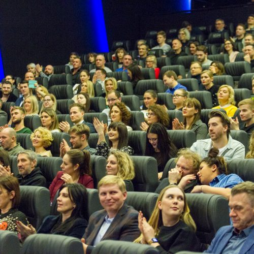 """Filmo """"Pasmerkti. Kauno romanas"""" premjera Kaune  © Laimio Steponavičiaus nuotr."""