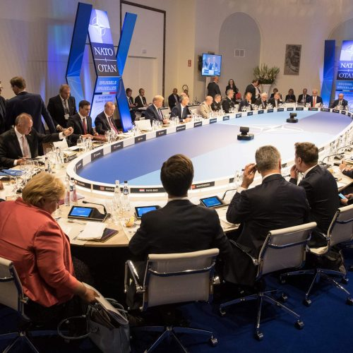NATO viršūnių susitikimas  © Scanpix, SIPA ir EPA-ELTOS nuotr.