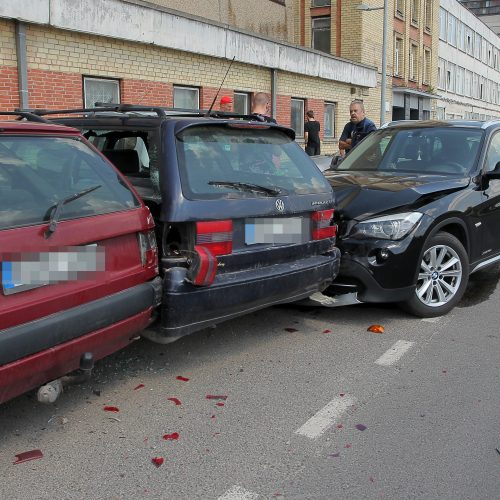 Automobilių susidūrimas Aleksote
