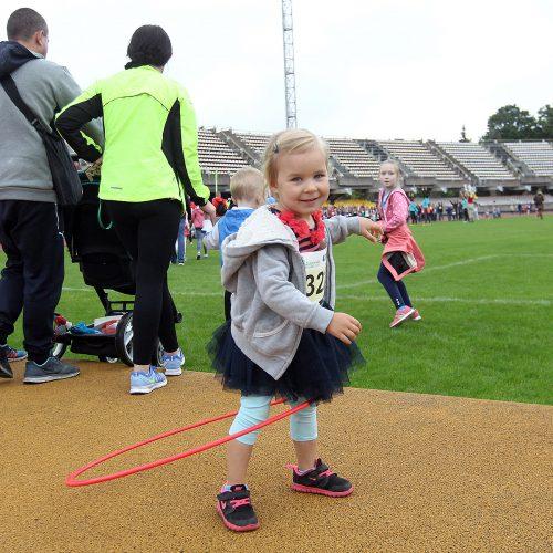 Ąžuolyno bėgimas. Šeimų ir vaikų varžybos  © Evaldo Šemioto nuotr.