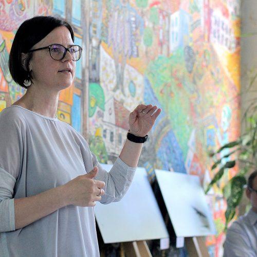Diskusija apie lietuvių kalbos idealus  © Evaldo Šemioto nuotr.