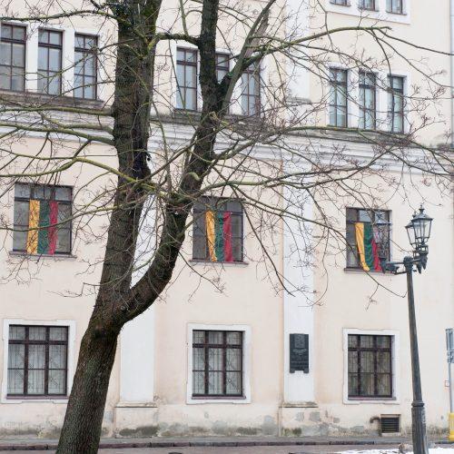 Trispalvės Rotušės aikštėje  © Akvilės Snarskienės nuotr.