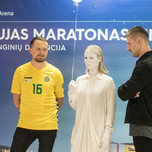 """Startavo naujas """"Siemens"""" arenos renginių maratonas  © G. Jauniškio nuotr."""