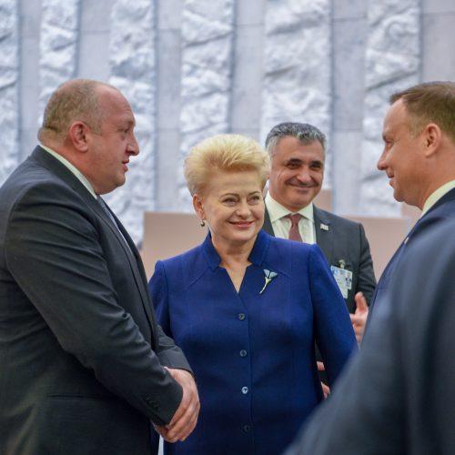 Prezidentė dalyvauja NATO vadovų susitikime  © R. Dačkaus / Prezidentūros nuotr.