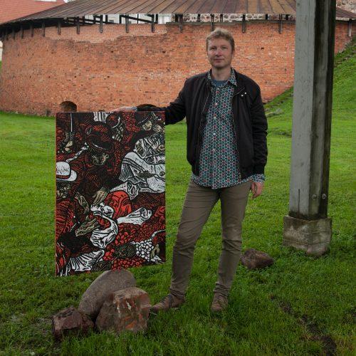 Esto dailininko Rein Tüür darbai  © Akvilė Snarskienė
