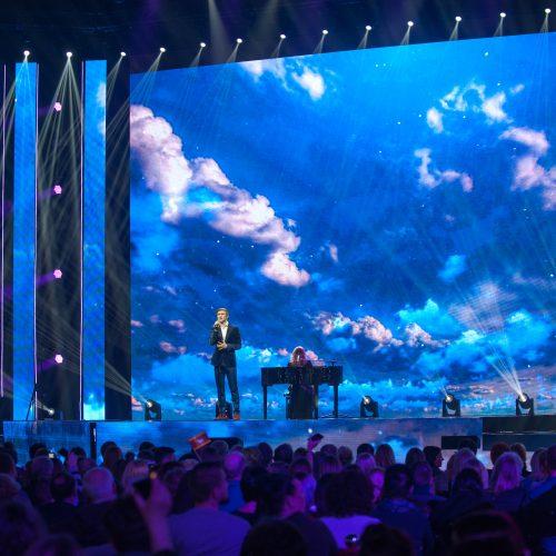 """""""Eurovizijos"""" finalas Kauno """"Žalgirio"""" arenoje  © Akvilės Snarskienės nuotr."""