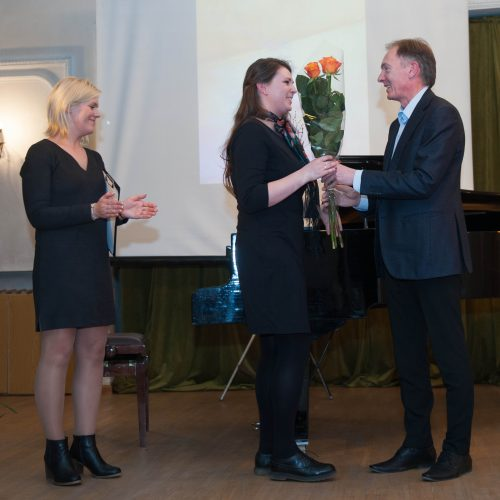 Apdovanojimai Kauno menininkų namuose  © Akvilės Snarskienės nuotr.