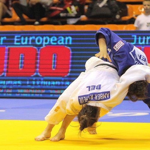 Europos jaunimo dziudo taurė. Šeštadienis  © Evaldo Šemioto, DMN nuotr.