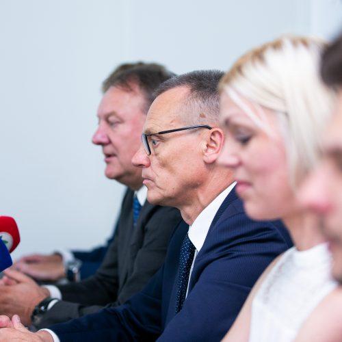LKL spaudos konferencija  © Irmanto Gelūno/BFL nuotr.