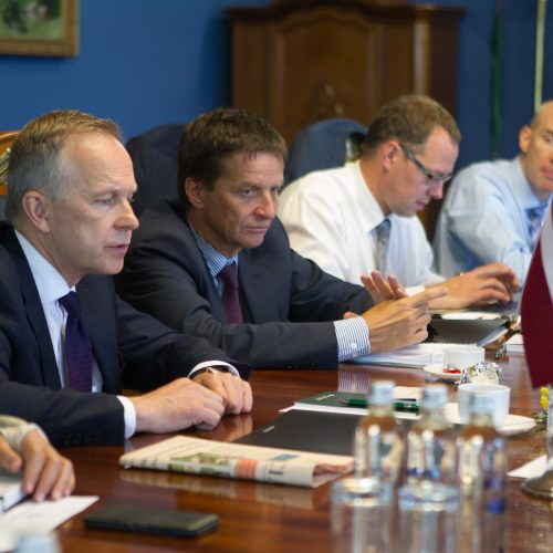 Baltijos šalių centrinių bankų vadovų susitikimas  © V. Skaraičio / BFL nuotr.