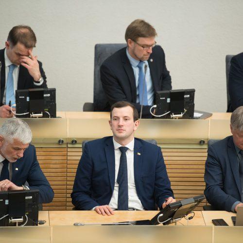 Vyriausybės valanda Seime  © V.Skaraičio/BFL nuotr.