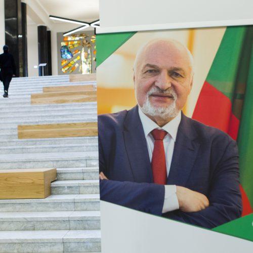 V. Mazuronis paskelbė rinkimų programą