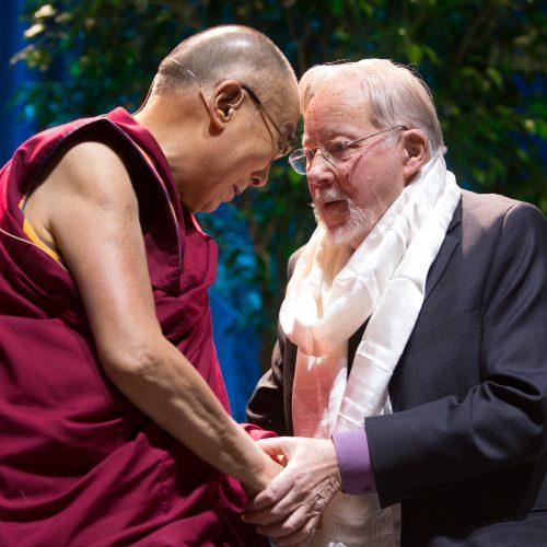 "Dalai Lamos paskaita ""Siemens"" arenoje  © V. Skaraičio / BFL nuotr."