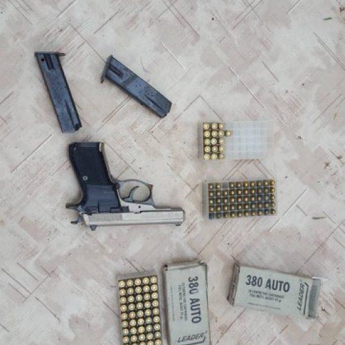 Kamuolinių grupuotės sulaikymas   © Policijos nuotr.