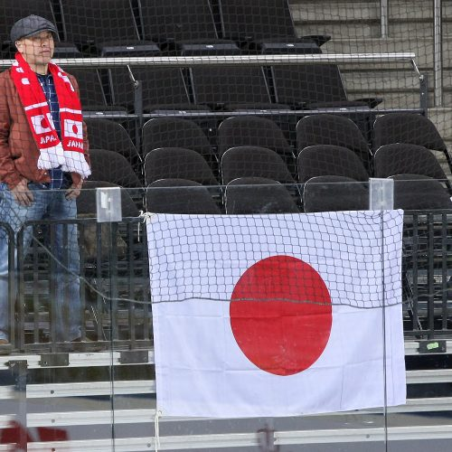 Ledo ritulys: Japonija – Kroatija 4:3  © Evaldo Šemioto nuotr.