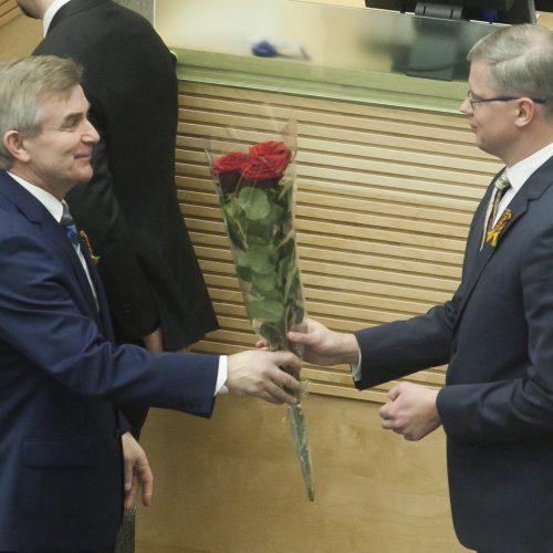 Nauji Seimo nariai – O. Valiukevičiūtė ir A. Kupčinskas