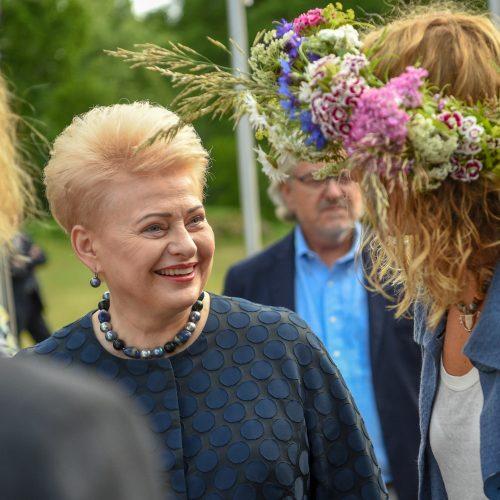 D. Grybauskaitė dalyvavo Vidurvasario šventėje  ©  R. Dačkaus (Prezidento kanceliarija) nuotr.