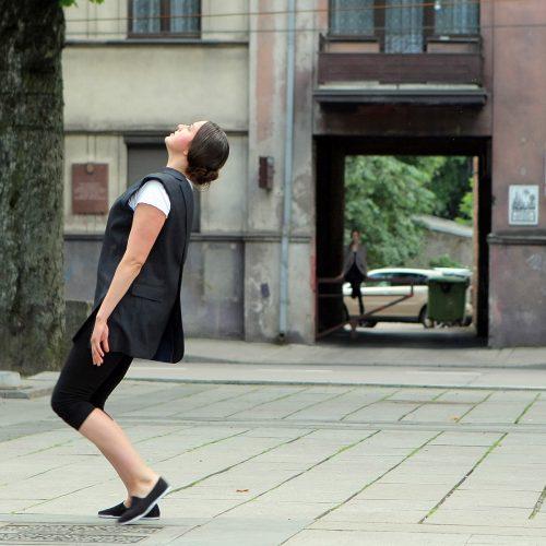 """Ekskursija-šokio spektaklis """"riboŽENKLIAI.KAUNAS""""  © Evaldo Šemioto nuotr."""