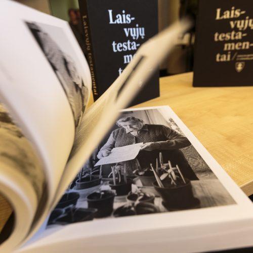 """""""Laisvųjų testamentai"""" pristatymas  © Gedimino Bartuškos/ELTOS nuotr."""