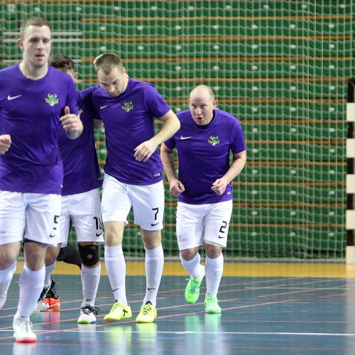 """Salės futbolas: """"Vytis"""" – """"Jonavos vikingai"""" 3:3  © Evaldo Šemioto nuotr."""