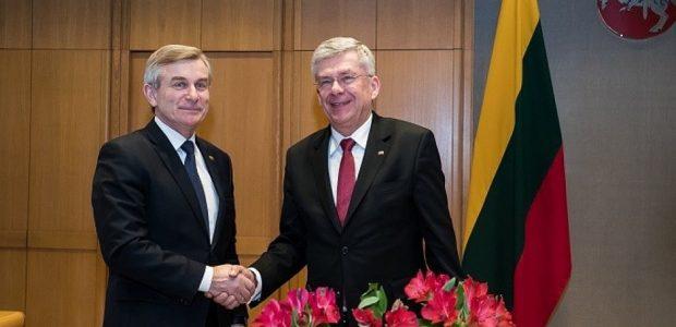 V. Pranckietis su Lenkijos Senato vadovu aptarė bendrus infrastruktūros projektus