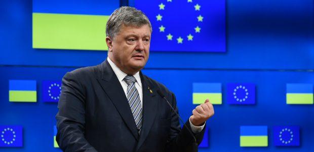 P. Porošenka: ES žada pratęsti sankcijas Rusijai