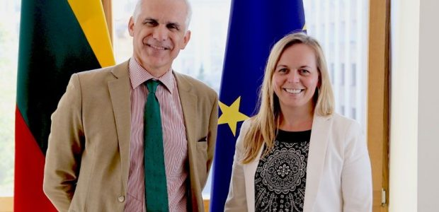 EBPO atstovams pristatyti Lietuvos veiksmai siekiant narystės