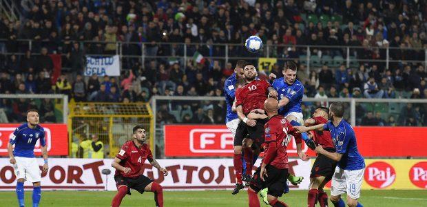 Pasaulio futbolo čempionato atranka: ugnis Italijoje ir ispanų įvarčių fiesta