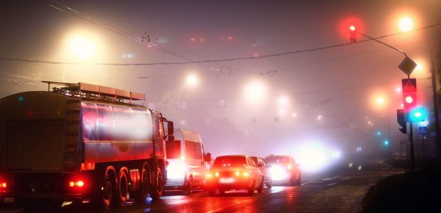Eismo sąlygas naktį sunkins rūkas