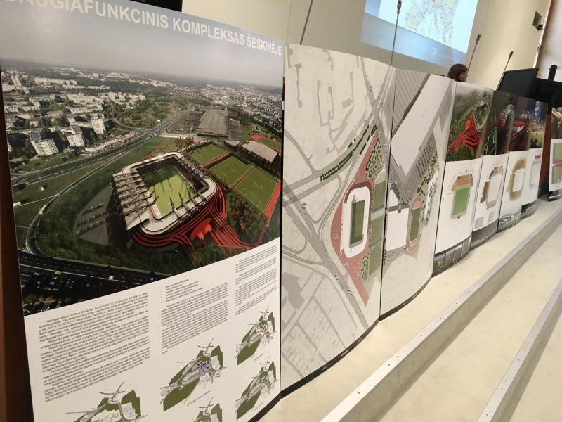 """Nacionalinio stadiono statybos: derybas tęs tik su """"Axis Industries"""""""