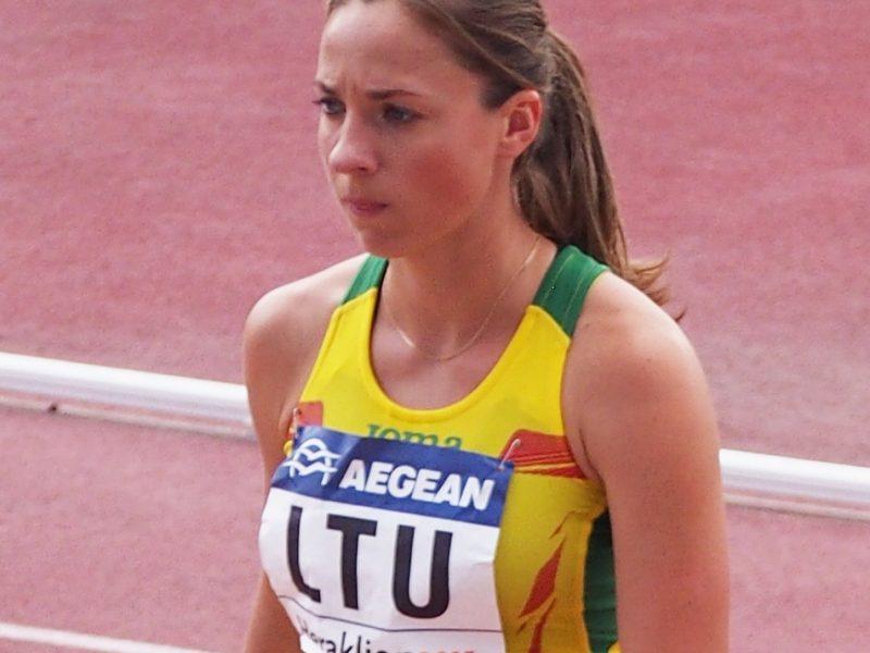 Bėgikė N. Piliušina JAV pasiekė geriausią Lietuvos sezono rezultatą