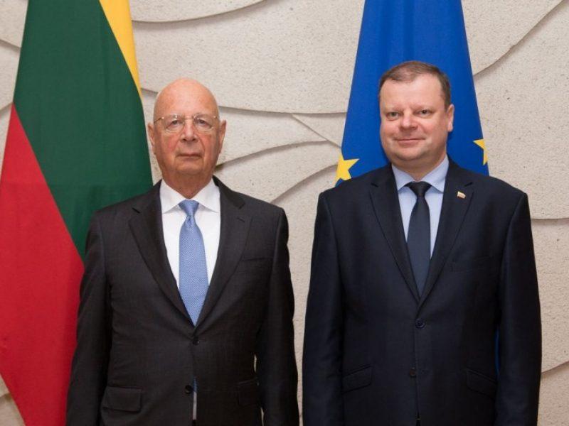 S. Skvernelis siūlo Vilniuje surengti Pasaulio ekonomikos forumo renginį