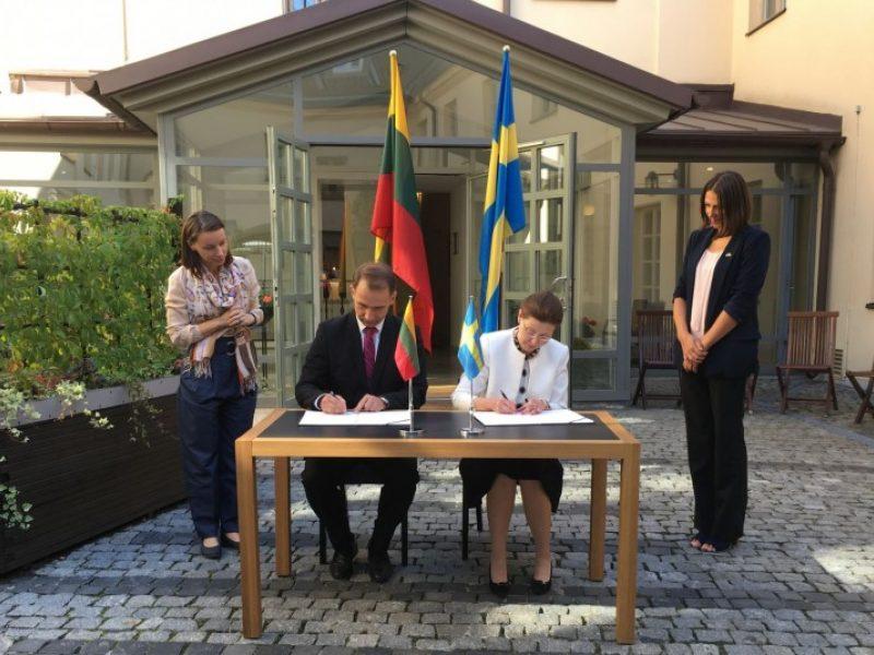 Švedija padės Lietuvai gerinti eismo saugumą