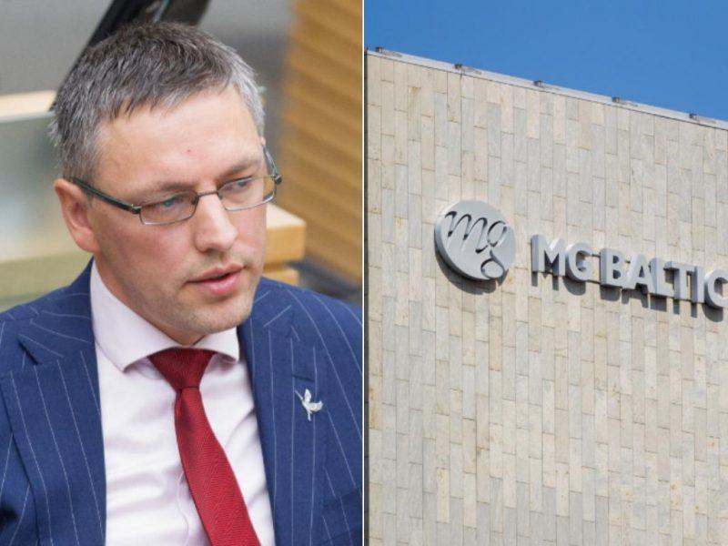 """Advokatas: kalbėdamas apie """"MG Baltic"""" V. Bakas rėmėsi teisės aktu"""
