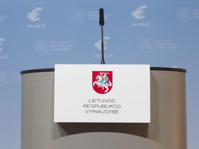 Seimo pirmininkas: Vyriausybė sudaryta ne pagal lytis, o kompetenciją