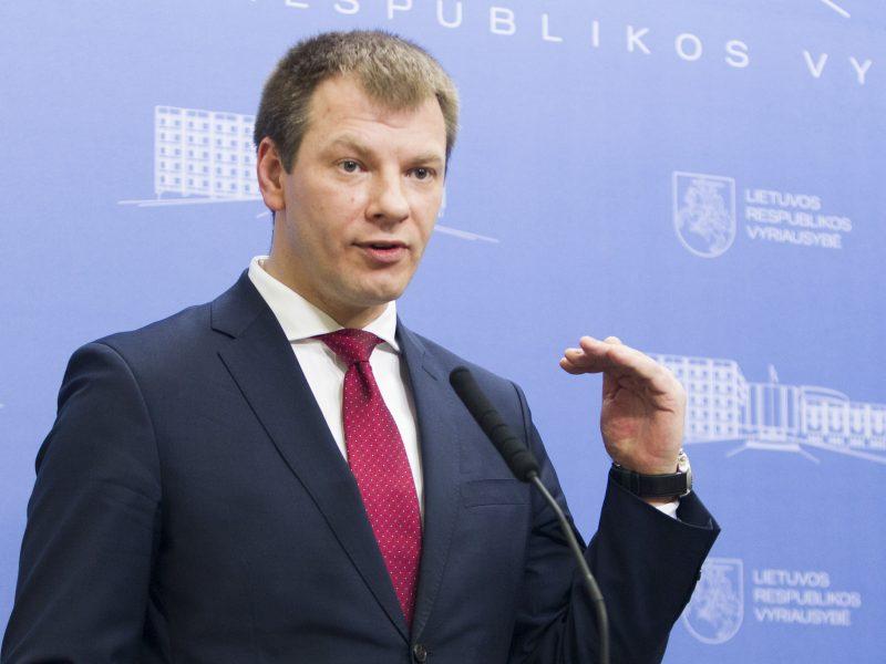 Ministras: apie ES finansų ministro pareigybės sukūrimą kalbėti per anksti