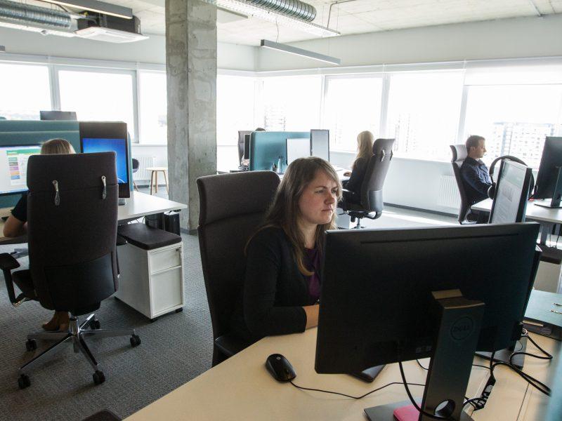 Trečdalis žmonių Vilniuje dirba užsienio kapitalo bendrovėms