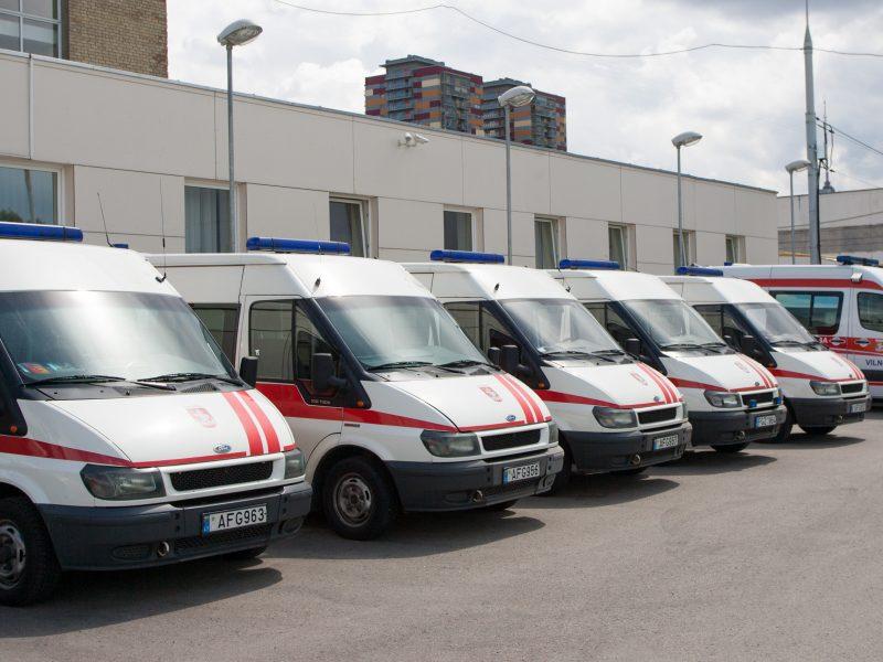 Pas ligonius skubės daugiau greitosios pagalbos brigadų