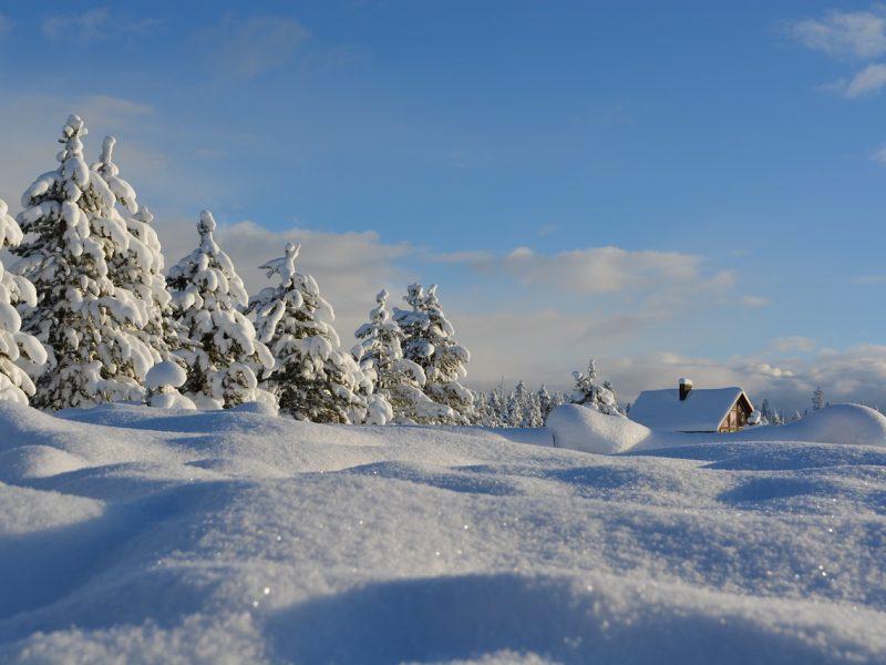 Orai: savaitgalis bus žiemiškas ir labai snieguotas