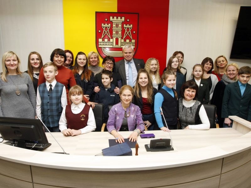 Klaipėdos moksleiviai stebino fantazija