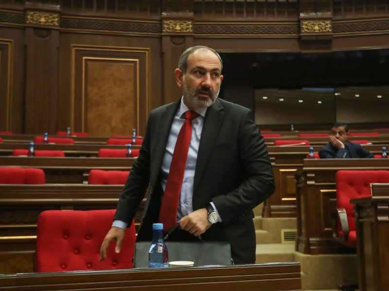 Armėnijoje gruodį rengiami pirmalaikiai parlamento rinkimai