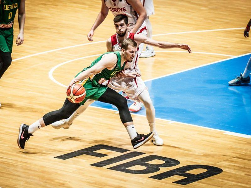 20-mečių vaikinų krepšinio rinktinė Europos čempionate šventė antrąją pergalę