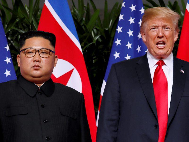 """Seulas: Kim Jong Uno ir Trumpo antras susitikimas yra """"didelis laimėjimas"""" taikai"""